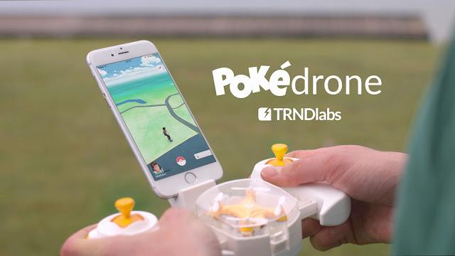 Die Pokédrone hilft Dir dabei seltene Pokémons Die Pokédrone hilft Dir dabei seltene Pokémons in Pokémon Go zu sammeln.