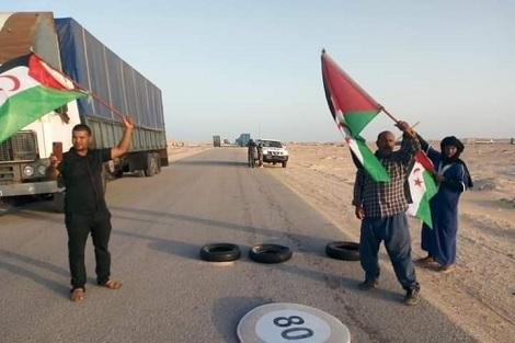 """الحكومة الموريتانية تختار """"الصمت"""" حيال إغلاق """"معبر الكركرات"""""""