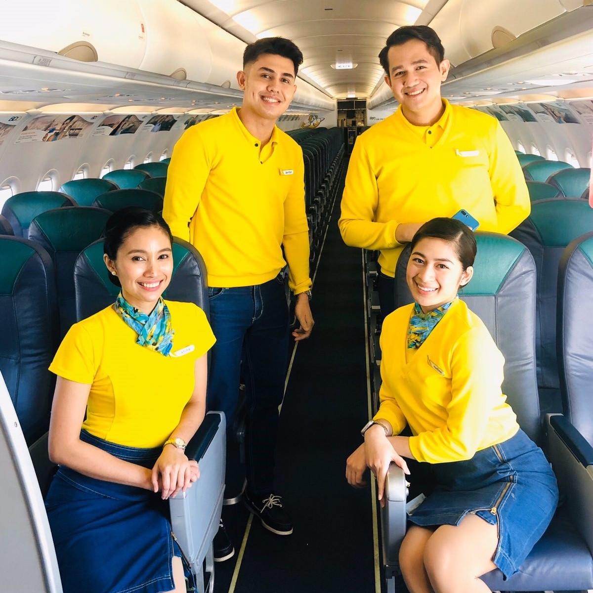 Cebu Pacific sweeper crew
