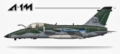 A-1M - AMX Modernizado
