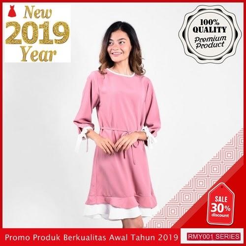 RMY036J34 Jeje Casual Dress Lengan Keren 7 Per BMGShop