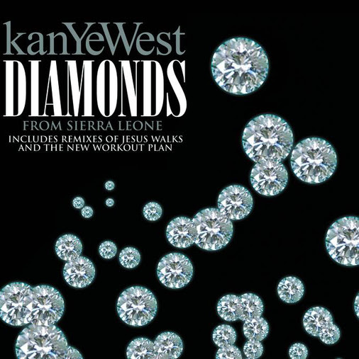 Kanye West - Diamonds From Sierra Leone - EP Cover