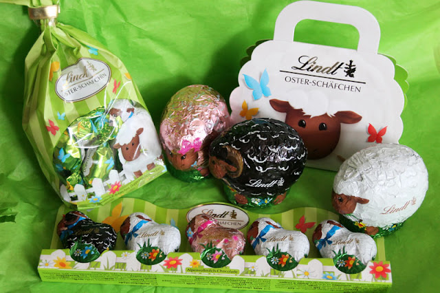 Gewinn eines Päckchens mit vielen Oster-Schäfchen von Lindt.