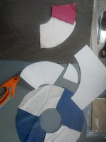 ProsperityStuff Life Preservers in progress for Nautical Quilt