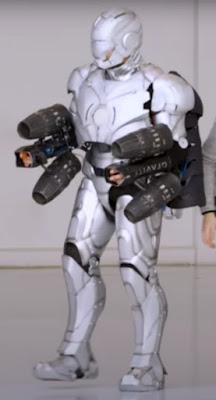 Gravity and Adam Savage's collaboration, Ironman MKII Jet Suit.
