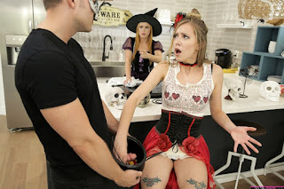haley reed penny pax Mom and sis-brothers dick trick or treat online