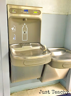 Water Bottle Refill Station, www.justteachy.blogspot.com