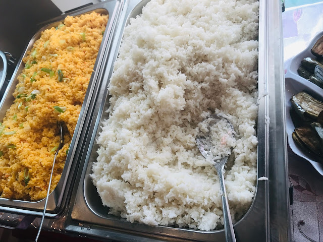 Plain and Java rice