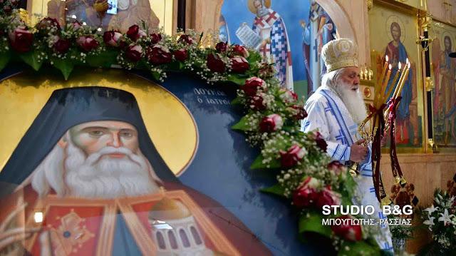 Αρχιερατική Θεία Λειτουργία από τον Μητροπολίτη Αργολίδας Νεκτάριο στον Άγιο Λουκά Ναυπλίου (βίντεο)