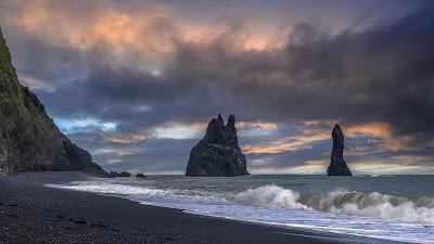 Wallpaper Sea Beach Rocks for mobile