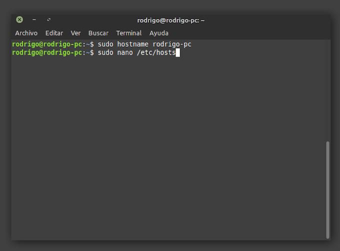 Cómo cambiar el nombre del equipo en Linux