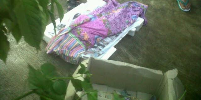 Mayat Bayi di Buang seperti Sampah di Tepi Sungai