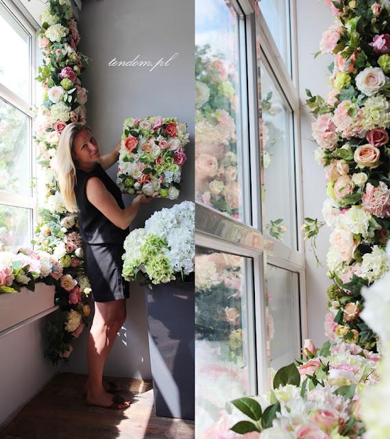 Kompozycje kwiatowe a'la Maria Antonina