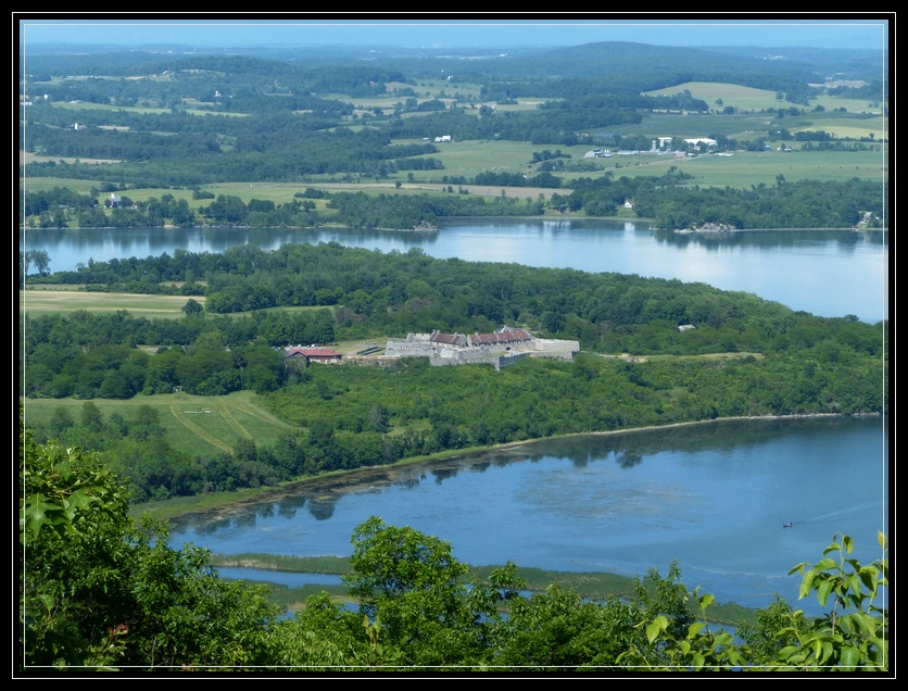 Mount Defiance and Fort Ticonderoga