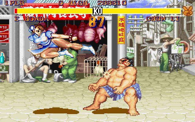 Chun-Li vs. E.Honda