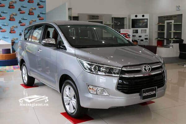 Toyota Innova 2019 trang bị số tay 5 cấp hoặc số tự động 6 cấp
