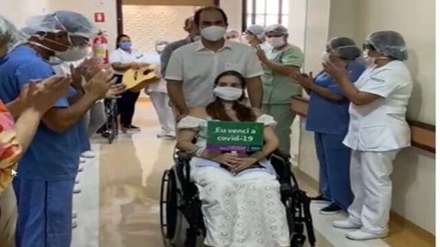 Médica é internada com Covid-19 e após 45 dias recebe alta e vai ver o filho que nasceu durante hospitalização, na Paraíba