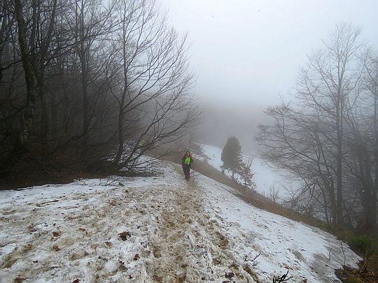 Przełęcz pod Fereczatą.