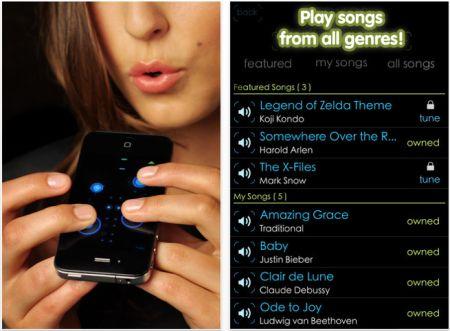 Iphone App Ocarina 2