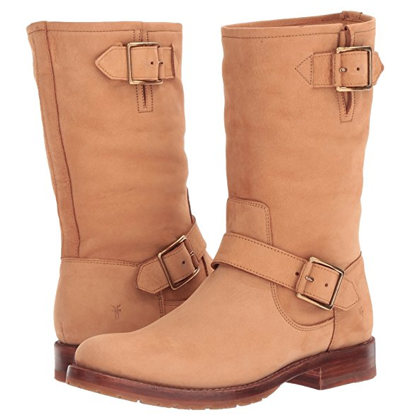 Amazon: FRYE Natalie Mid Engineer Boots as Low as $73 (reg $398) + free shipping!