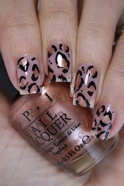 OPI Leopard Print Nails