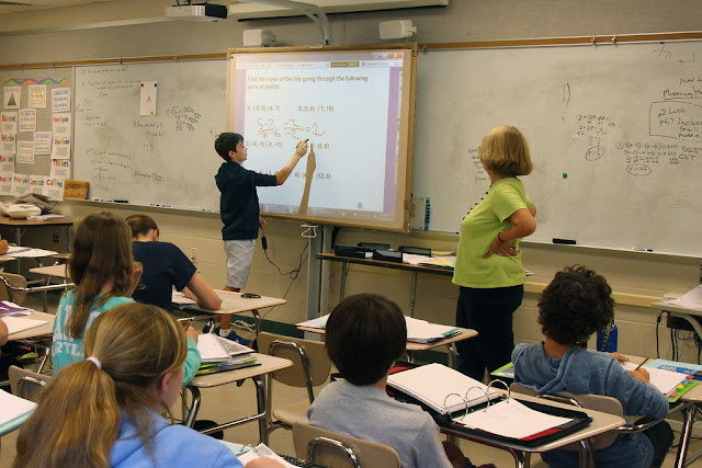 Mathematics and Teacher in english