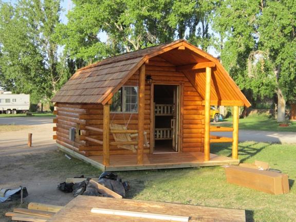The Montana Cabin Builder: Green River Delay