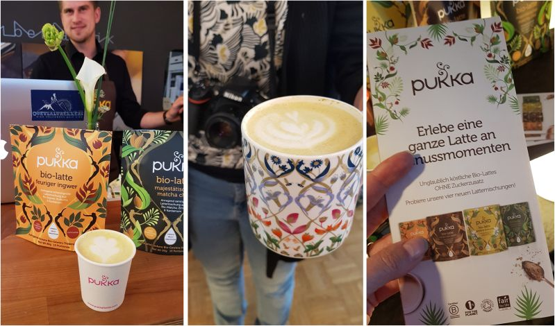Pukka Bio Latte Launch im Oktober 2018