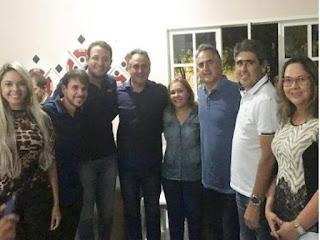 Luciano Cartaxo recebe filiação do vice-prefeito de Picuí; lideranças da região prestigiaram evento