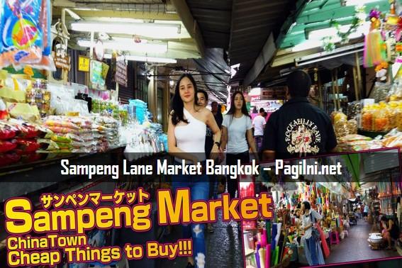 Sampeng Lane Market Bangkok