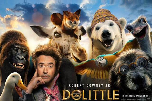 Dolittle 2020 Hindi Dubbed Movie