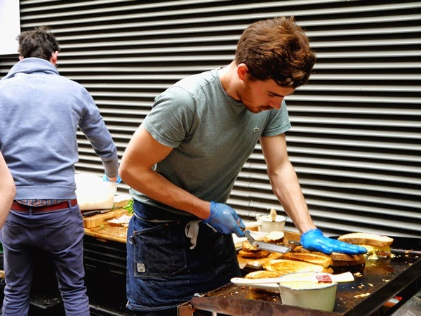 The Cheese Truck at Maltby Street Market, London