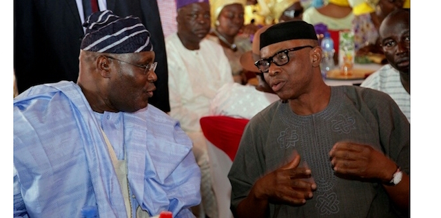 2019: I am NOT Plotting Against Buhari With Mimiko - Atiku Speaks