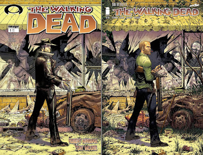 The Walking Dead cover 1 & 150 (Tony Moore)