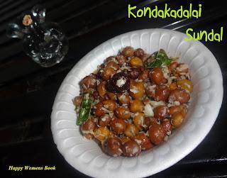 Kondakadalai Sundal