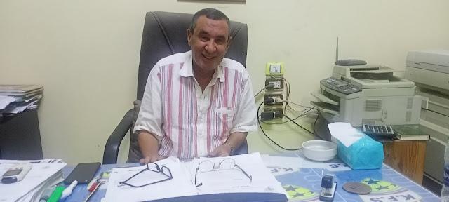 أحمد مصطفى مدير نادي كفر الشيخ