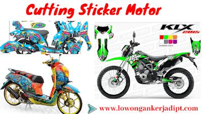 Bisnis Cutting Sticker