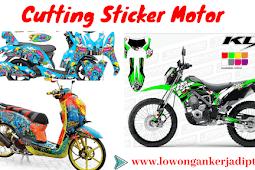 Bisnis Cutting Sticker Untung 40 Juta Perbulan