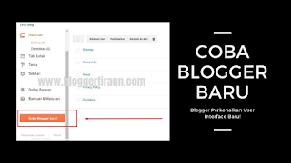 Coba Blogger Baru : Blogger Perkenalkan User Interface Baru!