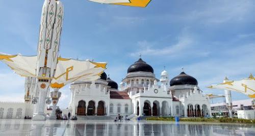 Empat Masjid Megah dan Indah di Provinsi Aceh