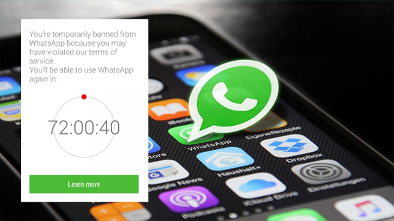 WhatsApp Kena Banned