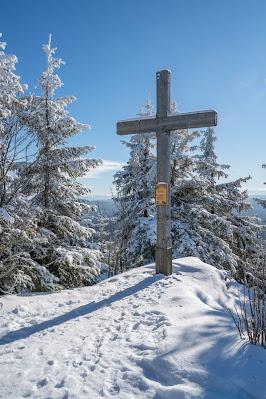 Winterwandern Mauth-Finsterau  Reschbachklause – Siebensteinkopf  Nationalpark Bayerischer Wald 18