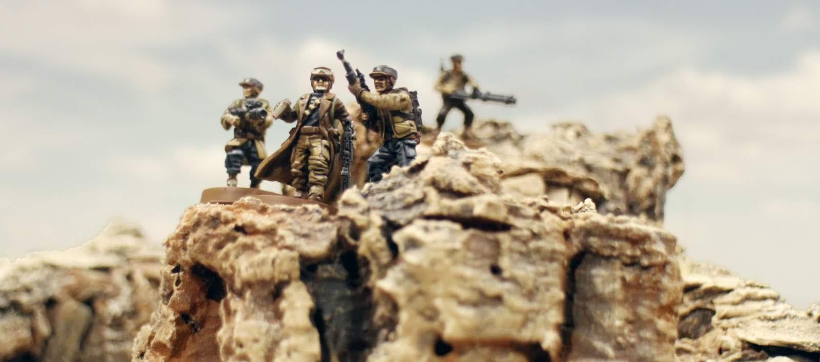 1000 Foot General: Rocky Desert Hills for Wargames Tutorial