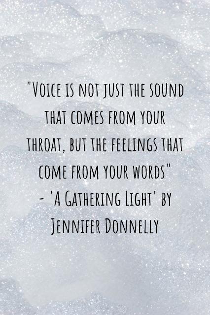 Review of 'A Gathering Light' by Jennifer Donnelly