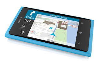 Nokia Lumia 800 map navigation