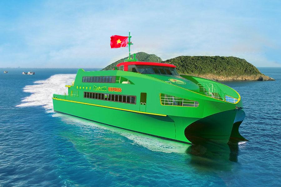 Giá vé tàu cao tốc Mai Linh Express Cần Thơ - Côn Đảo