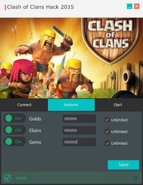 clash of clans free gems app download