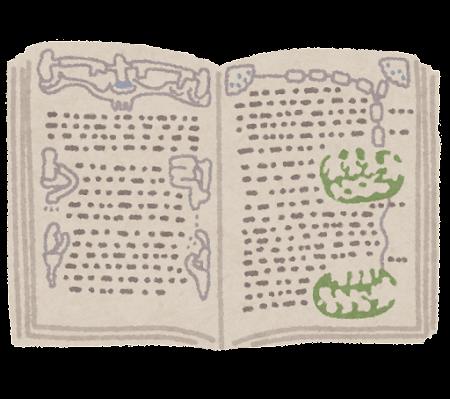 ヴォイニッチ手稿のイラスト
