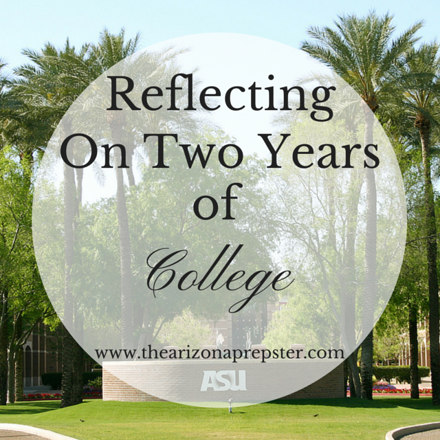 Reflecting On Two Years of College