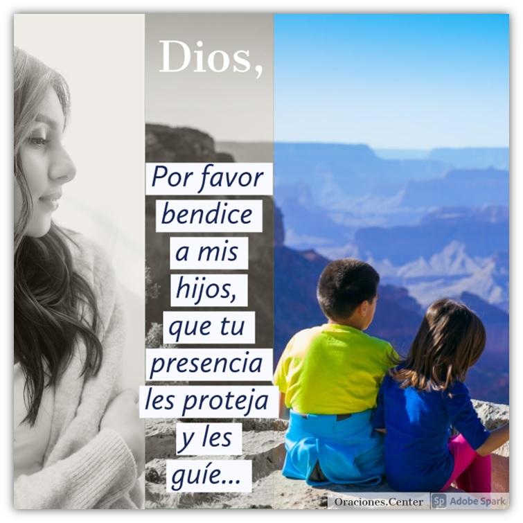 Padre Nuestro Oración - Señor Bendice a mis Hijos